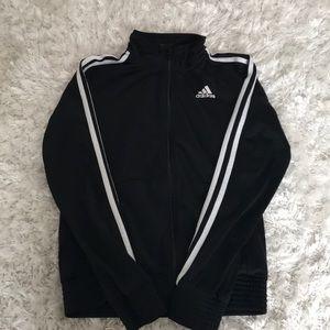Adidas Black Zip-Up Sweater